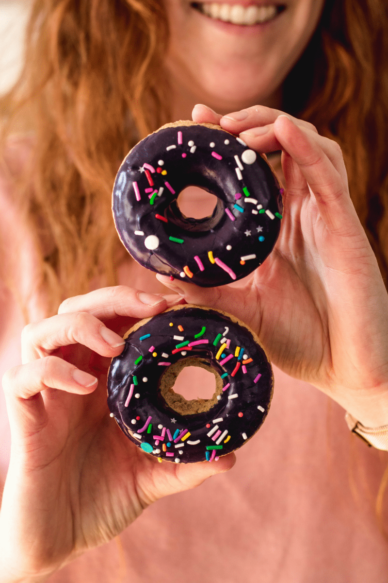 baked vegan donuts eh vegan