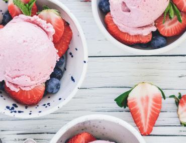 eh vegan ice cream strawberry coconut xanthan gum