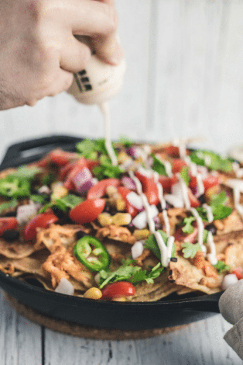 vegan nachos by eh vegan