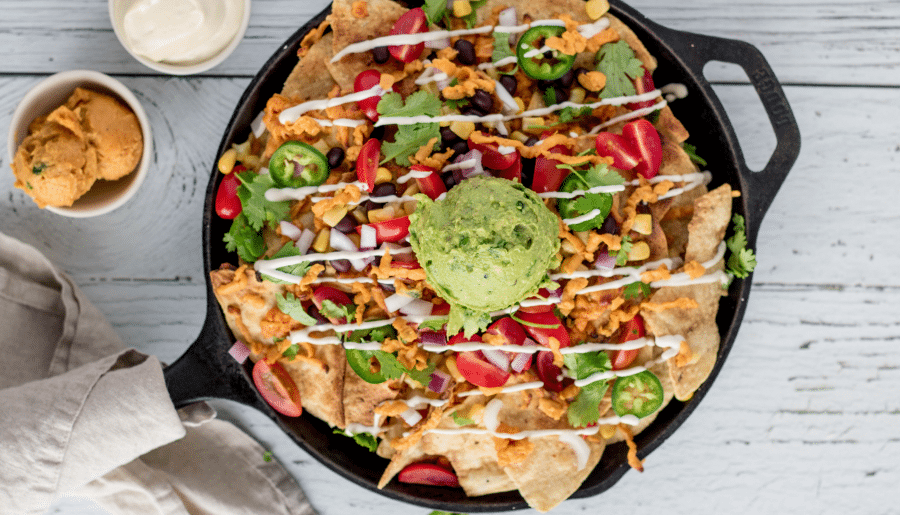 Vegan Nachos — Fully Loaded & Packed With Flavour