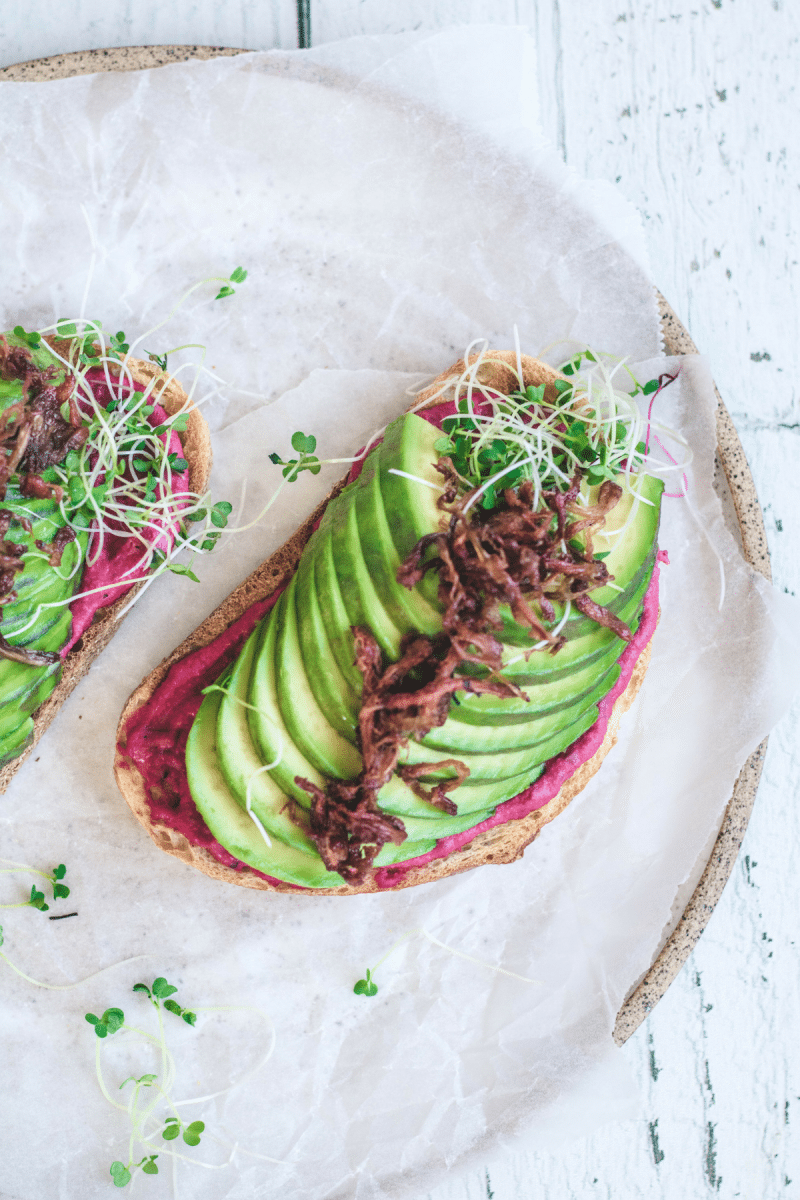 Eh Vegan Jackfruit Confit Nature's Charm Avocado Toast