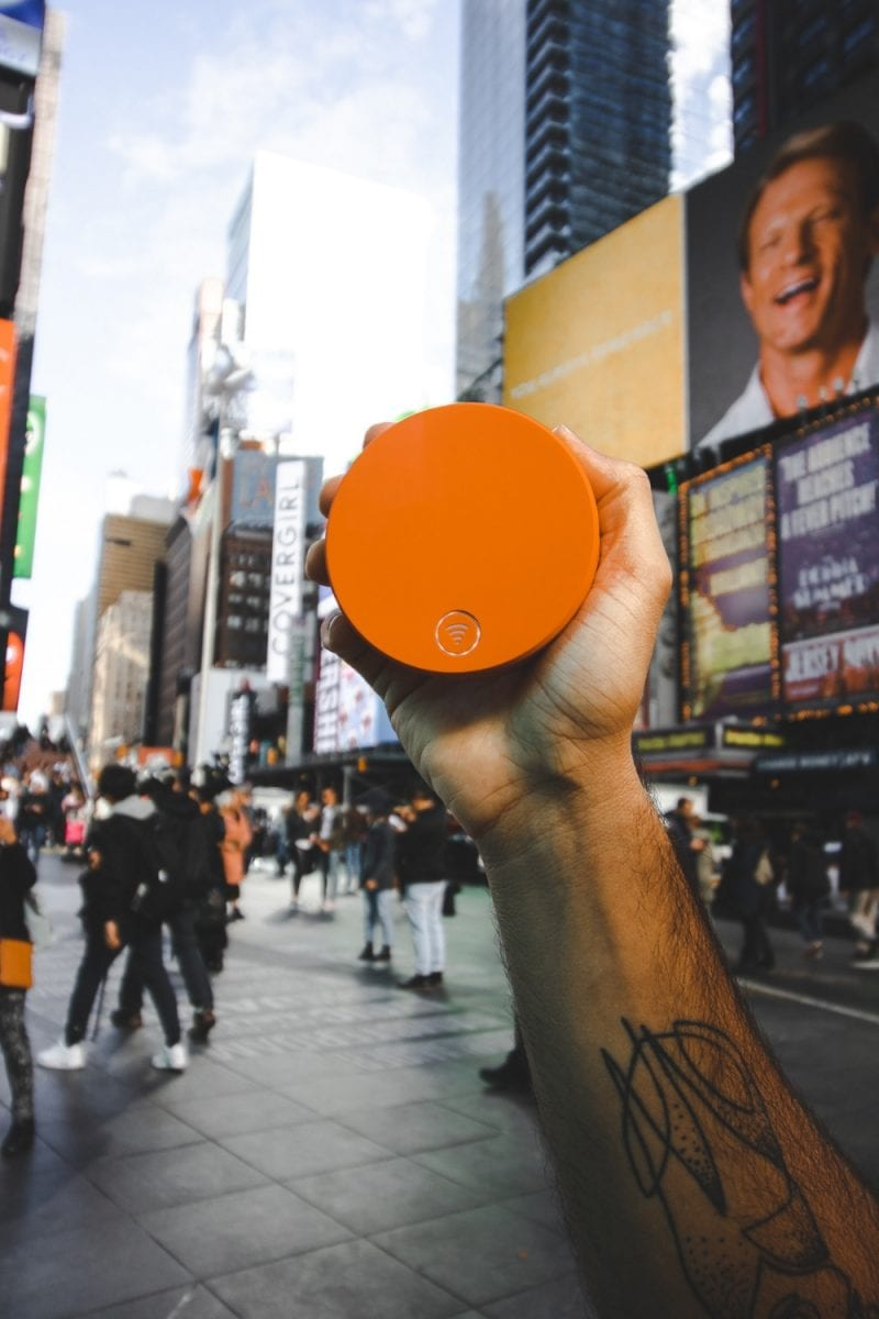 eh vegan quick trip new york city times square skyroam